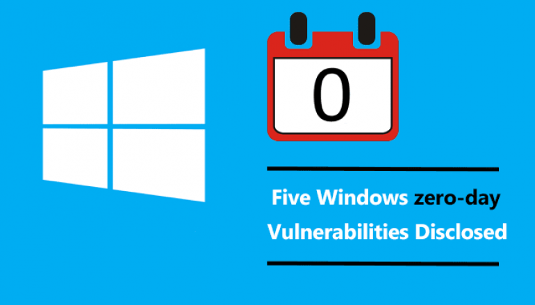 Researchers Disclose Five Windows Zero-day Vulnerabilities that Allow Hackers to Escalate Privileges