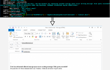 Gamaredon Group Uses a New Outlook Tool to Spread Malware