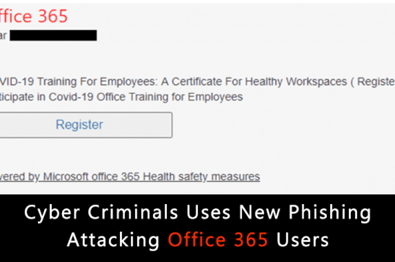 Hackers Using COVID-19 Training Lure to Attack Office 365 Users