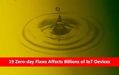 Ripple20 – 19 Zero-Day Vulnerabilities Affects Billions of IoT Devices