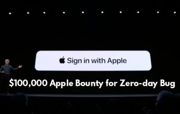 """$100,000 Bounty Apple Zero-day Bug in """"Sign in with Apple"""" Let Hackers Take Takeover of Apple User Accounts"""