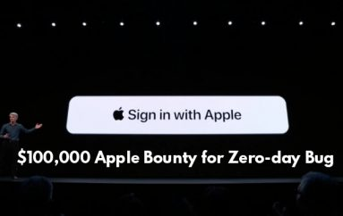 "$100,000 Bounty Apple Zero-day Bug in ""Sign in with Apple"" Let Hackers Take Takeover of Apple User Accounts"