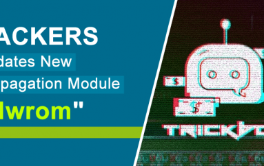 "Hackers Behind the TrickBot Malware Updates Their New Propagation Module ""Nwrom"""