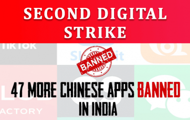India's Second Digital Strike!! 47 More Chinese apps Banned for Data, Privacy Violations
