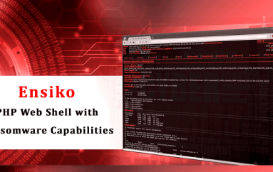 Ensiko – A PHP Based Web Shell with Ransomware Capabilities Attacks PHP Installation