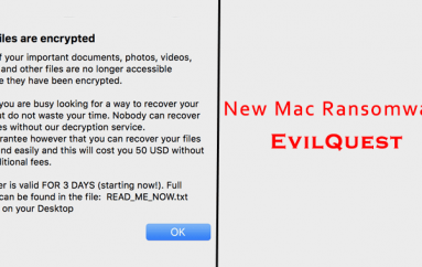 """New Ransomware """"EvilQuest"""" Attacking macOS Users to Encrypts Users Files"""
