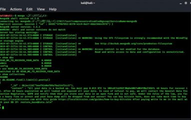 Hackers are Targeting Unsecured MongoDB Database