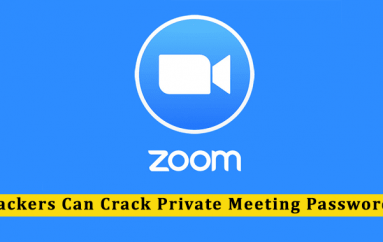 Zoom Flaw Let Hackers to Crack Private Meeting Passwords