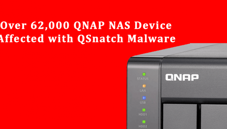 CISA Warns that More than 62,000 QNAP NAS Devices Affected with QSnatch Malware