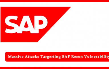 Hackers Massively Scanning for SAP Recon Vulnerability