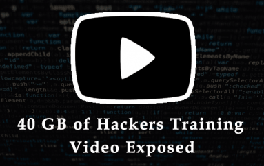 Iranian Threat Group Exposes 40 GBs of their Training Video and Data Files