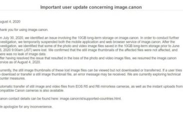 Did Maze Ransomware Operators Steal 10 GB of Data from Canon?