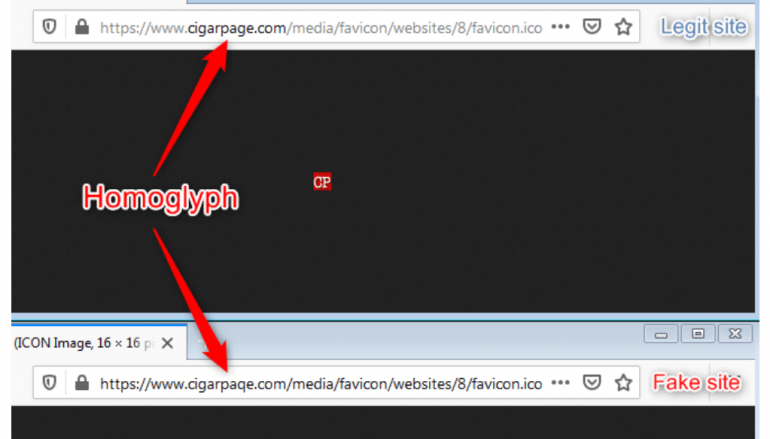 Homoglyph Attacks Used in Phishing Campaign and Magecart Attacks