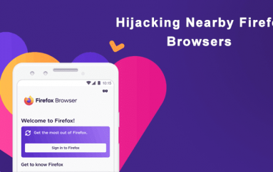 A Bug With Firefox for Android Let Attackers Hijack without user Interaction on the Same WiFi Network
