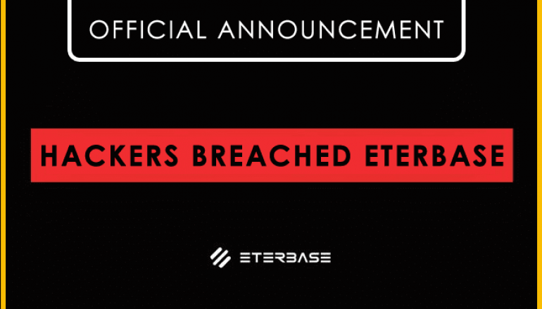 Hackers Breached ETERBASE Cryptocurrency Exchange and Stole $ 5.4 Million