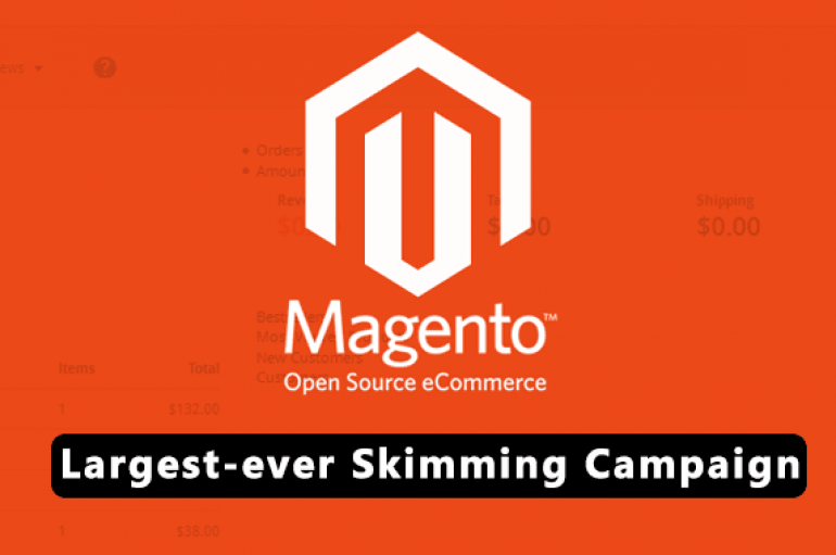 Thousands of Magento Stores Hacked in Largest-ever Skimming Campaign