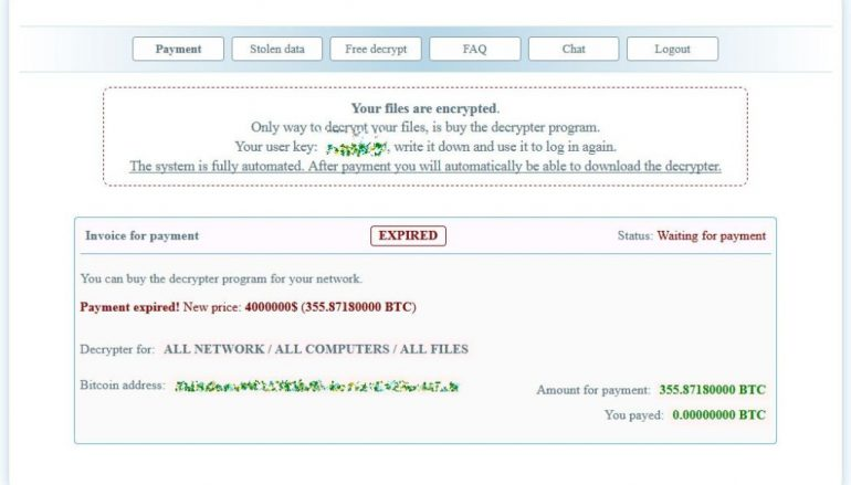 Netwalker Ransomware Hit Argentina's Official Immigration Agency