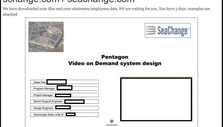 SeaChange Video Delivery Provider Discloses REVIL Ransomware Attack
