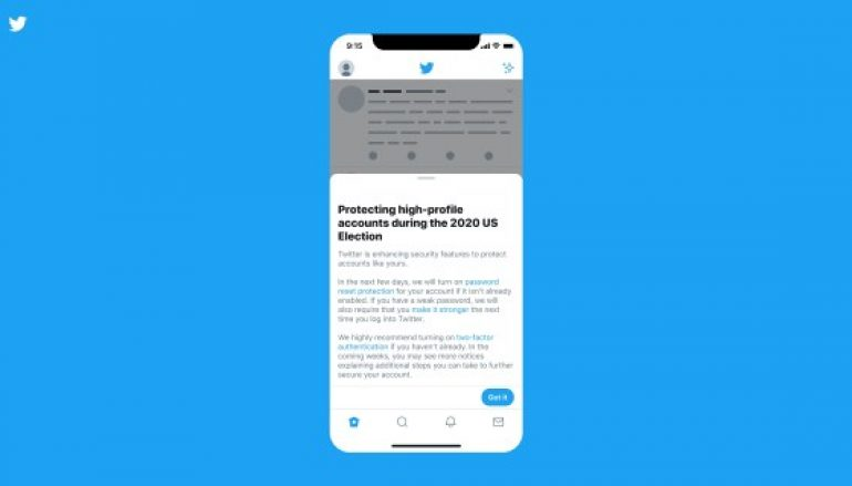 Twitter Announces Measures to Protect Accounts of People Involved in 2020 Presidential Election