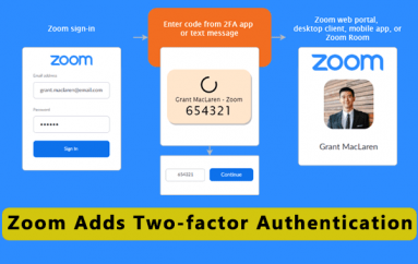 Zoom Adds Two-factor Authentication Available for all Users
